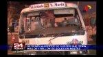 Accidente en SJL: coaster tenía un millón de soles en multas - Noticias de accidente de transito