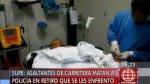 Supe: policía en retiro murió tras enfrentarse a asaltantes - Noticias de percy ladron