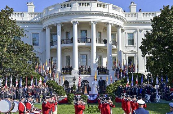 Así fue la visita del Papa Francisco a Obama en la Casa Blanca