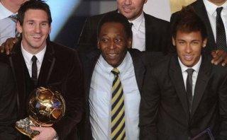 Pelé aseguró que Lionel Messi es el mejor jugador del mundo