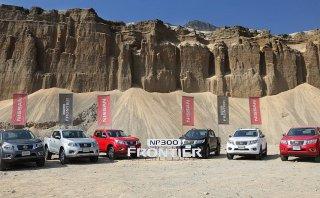 Nissan lanzó la pick up NP300 Frontier [Fotos]