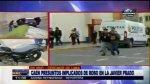Asalto en la Av. Javier Prado: capturan a presuntos implicados - Noticias de antecedentes penales