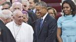 Así recibió la familia Obama al papa Francisco en Washington - Noticias de junipero serra