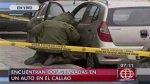 Dos granadas fueron halladas dentro de auto intervenido por PNP - Noticias de divincri del callao