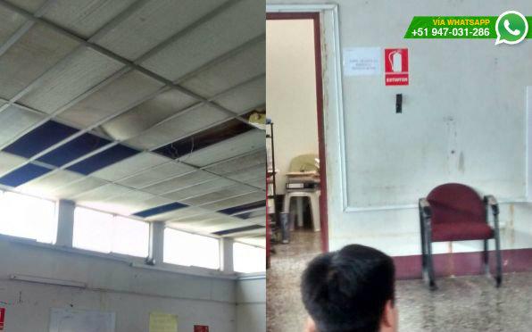 Whatsapp y los extintores de esta oficina de defensa for El comercio oficinas