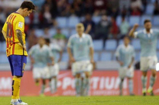 Barcelona-Celta: la humillante derrota catalana (FOTOS)