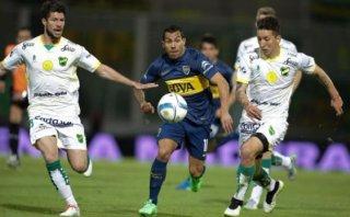 Boca clasificó a semis de la Copa Argentina con gol de Tevez