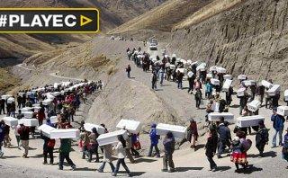 Perú inicia la búsqueda de miles de desaparecidos [VIDEO]