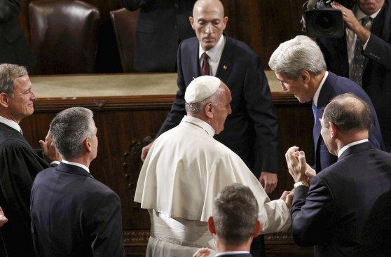La histórica visita del Papa al Congreso de Estados Unidos