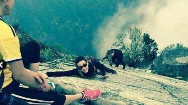 Así fue la visita de Katy Perry a Machu Picchu