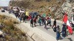 'Marcha de sacrificio' de Pasco a Lima lleva 7 días [FOTOS] - Noticias de campaña de salud