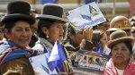 Bolivia - Chile: Así celebró Evo Morales el fallo de La Haya - Noticias de jaime morales