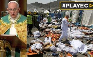 "Papa Francisco lamentó la ""tragedia"" en La Meca [VIDEO]"