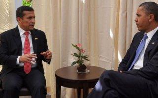 Ollanta Humala conversó con Obama sobre Acuerdo Transpacífico