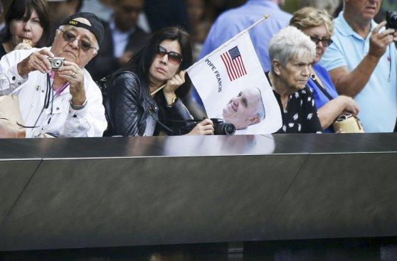 Papa en la zona de terror del 11-S: