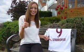 Anja Lewandowski, la goleadora que sigue los pasos de Robert
