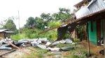 Lluvias y ventarrones destruyeron viviendas rurales en Pasco - Noticias de lluvias intensas