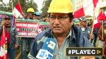 Obreros de Shougang protestaron en el Ministerio de Trabajo - Noticias de jesus obrero
