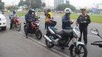 Motociclistas deberán usar chalecos con número de placa - Noticias de sistema vial