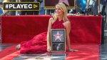 Claire Danes recibió estrella en Paseo de la Fama de Hollywood - Noticias de carrie mathison