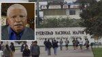 San Marcos: rector pide que clases acaben antes por El Niño - Noticias de minedu