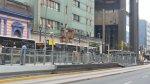 Metropolitano: caos por vuelco de coaster en carril exclusivo - Noticias de accidente de transito