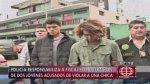 PNP y fiscalía se acusan por liberación de presuntos violadores - Noticias de javier carnero