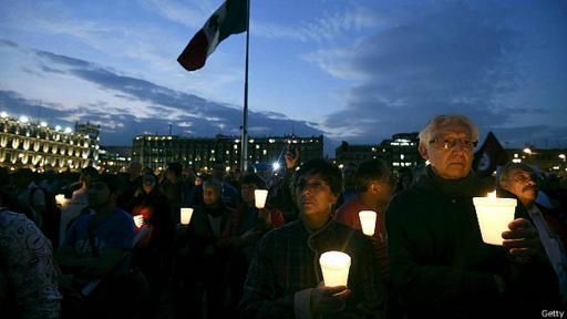 El caso Ayotzinapa ha generado protestas a lo largo de 2015.