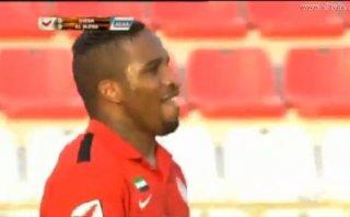 Jefferson Farfán: mira el gol que anotó en derrota de Al Jazira