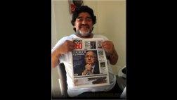 """Maradona sobre caso Blatter: """"El fútbol siempre da revancha"""""""