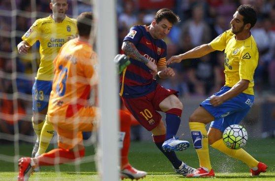Lionel Messi: cuadro x cuadro de la lesión en Barcelona (FOTOS)
