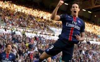 PSG goleó 4-1 al Nantes con goles de Zlatan, Cavani y Di María