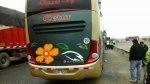 Áncash: 900 municiones fueron halladas en bus interprovincial - Noticias de peaje