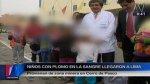 Niños de Pasco llegaron a Lima para ser atendidos por el Minsa - Noticias de contaminación ambiental