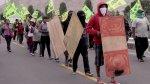 Los 'espartambos' siguen protestando contra Tía María [FOTOS] - Noticias de paro minero en arequipa
