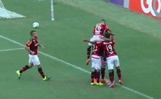 Paolo Guerrero: mira su precisa asistencia de gol para Flamengo