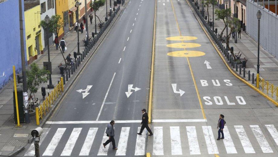 Así se ve el Centro Histórico de Lima sin autos [FOTOS]