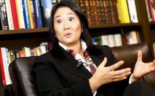 """Keiko: """"Estoy de acuerdo con que Nadine sea investigada"""""""