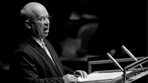 Nikita Kruschev reaccionó ante las acusaciones de que la URSS despojó de sus derechos a los países de Europa del Este. (Foto: Naciones Unidas/Yutaka Nagata)