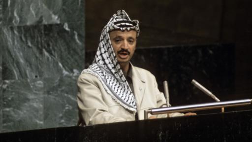Arafat defendió las acciones armadas de la OLP. (Foto: Naciones Unidas)