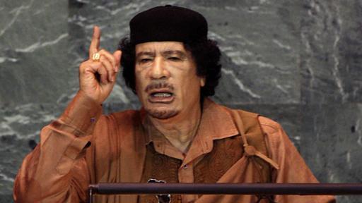 Gaddafi acusó a Estados Unidos de crear el virus de la peste porcina. (Foto: Getty Images)