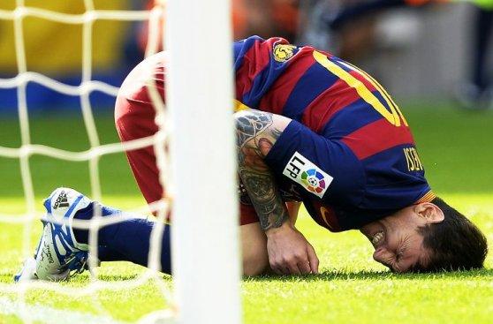 Lionel Messi: galería histórica de sus lesiones en 10 años