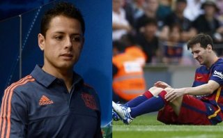"Chicharito sobre baja de Messi: ""Es un plus para Leverkusen"""