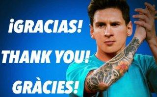 Facebook: Lionel Messi envió mensaje tras sufrir dura lesión