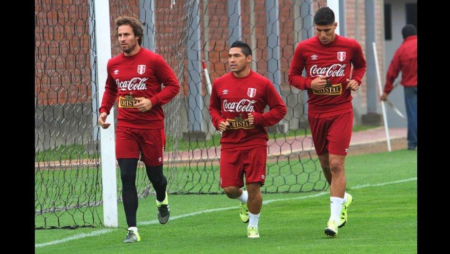 Selección peruana trabajó con miras a Eliminatorias Rusia 2018