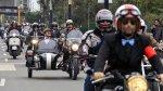 Motos clásicas se lucieron en las calles de Lima  [FOTOS] - Noticias de sayán