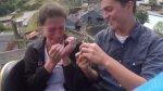 La adrenalínica propuesta de matrimonio en una montaña rusa - Noticias de parque tematico