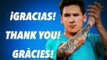 Facebook: Lionel Messi envió mensaje tras sufrir dura lesión - Noticias de futbol espanol barcelona