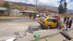 Junín: tres heridos de gravedad tras choque entre dos autos - Noticias de accidentes en huancayo