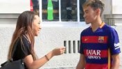 Joven aprovecha su parecido a Neymar para robar besos [VIDEO]